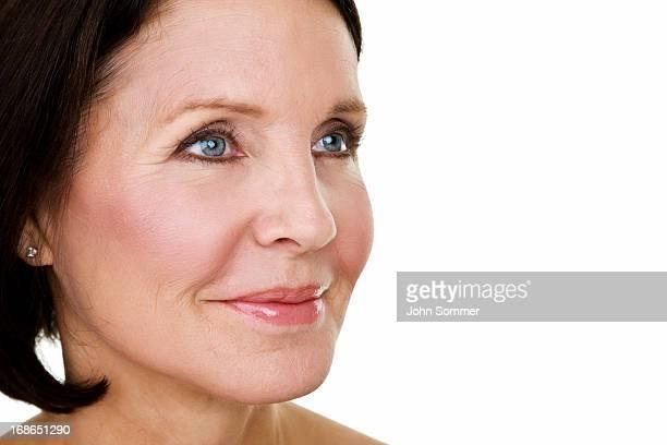 concept Beauté de femme d'âge mûr