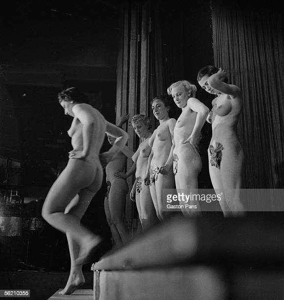 Beauty contest France about 19371939