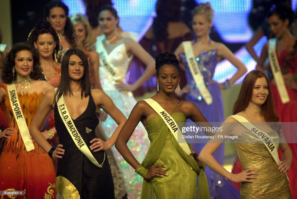 Miss World Contestants : News Photo