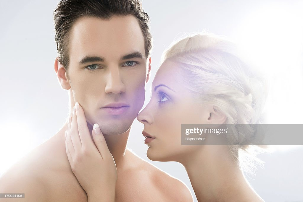 Beauty couple. : Stock Photo