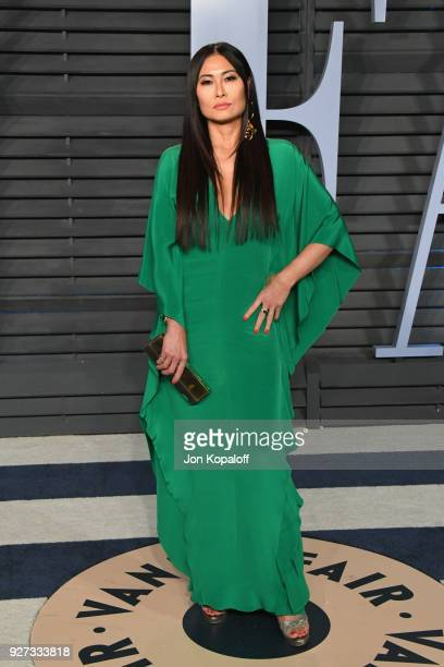 Beauty Director at Vanity Fair SunHee Grinnell attends the 2018 Vanity Fair Oscar Party hosted by Radhika Jones at Wallis Annenberg Center for the...