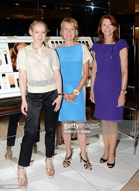 Beauty Director at Vogue Sarah Brown SVP and General Merchandise Manager of Saks Fifth Avenue Deborah Walters and Executive Director of the Personal...