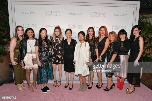 Beauty Editor Health and Real Simple Lisa DeSantis Physicians Formula Product Developer Regina Mendoza Beauty Director of ELLE Magazine Erin Flaherty...