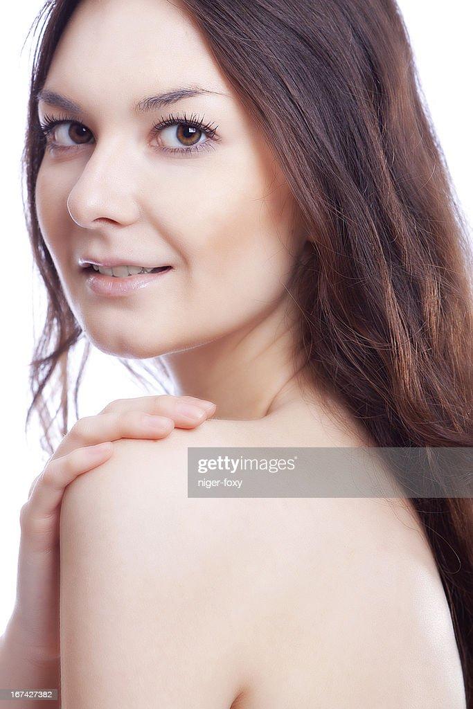 Cara de belleza : Foto de stock
