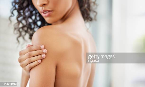 beauty from the back - body care stock pictures, royalty-free photos & images