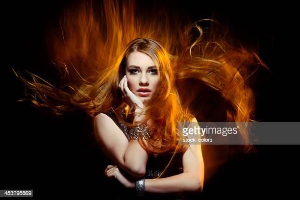 Schönheit im fire