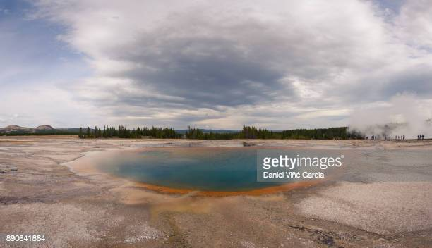 Beauty in natural geysers
