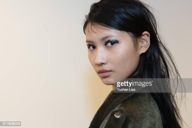 Beauty Looks for Zero Maria Cornejo Presentation February 2018 New York Fashion Week on February 12 2018 in New York City