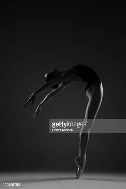 beauty of ballet - ballet dancer stock pictures, royalty-free photos & images