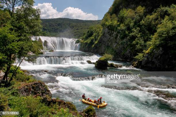 beauty of europe - rafting - fotografias e filmes do acervo