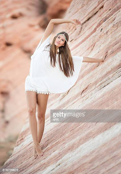 beauty of nature, slot canyon - valley of fire state park stock photos and pictures
