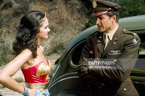 WOMAN Beauty on Parade Season One 10/13/76 Wonder Woman and Major Steve Trevor infiltrated a dangerous sabotage ring operating during a beauty contest
