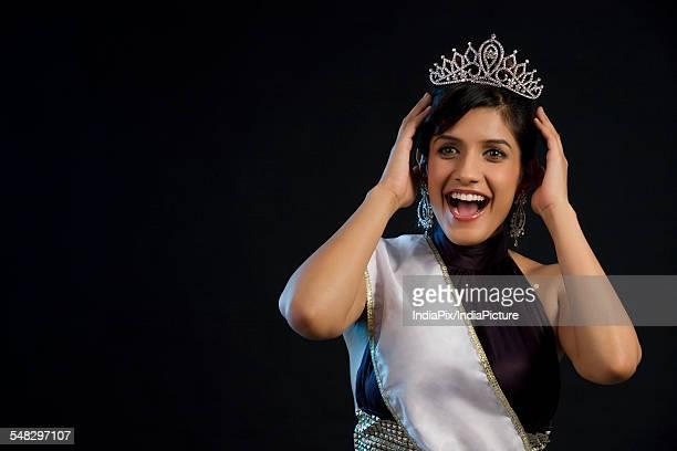 Beauty pageant winner feeling overjoyed