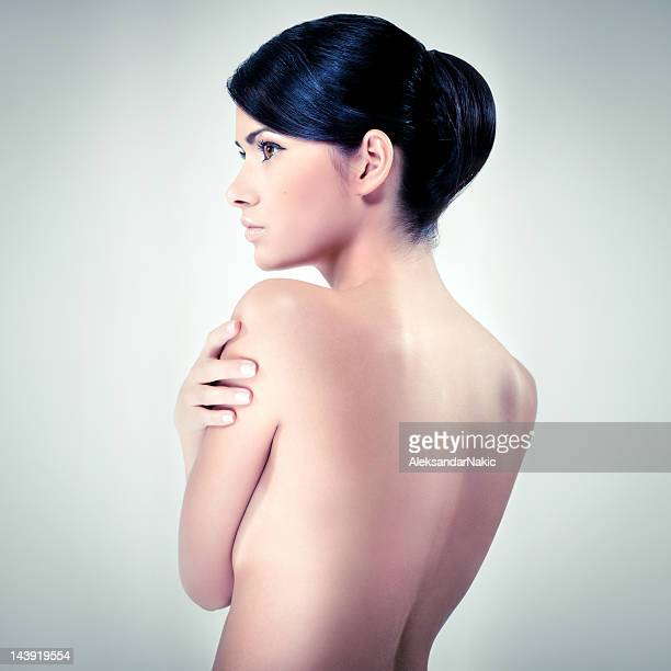 beauty - beautiful bare breasted women stock pictures, royalty-free photos & images