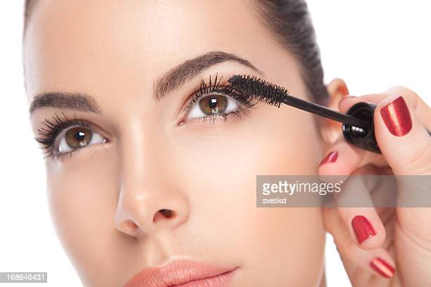 beauty. - eye make up stock photos and pictures