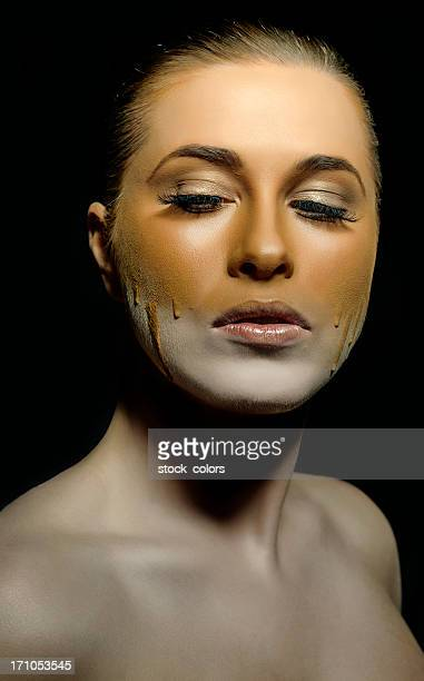 beauty - retouched image stock photos and pictures