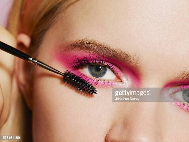 beauty - eye make up stock pictures, royalty-free photos & images