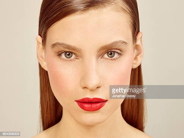 beauty - hazel eyes stock pictures, royalty-free photos & images