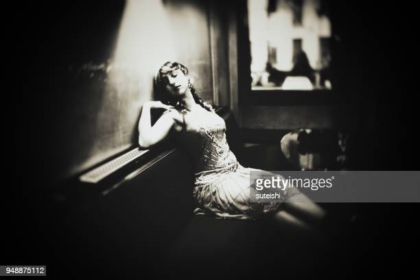 la belle - roaring 20s stock photos and pictures