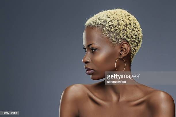 beauty portrait  fashion  beautiful african ethnicity  young women - fine art portrait stock photos and pictures