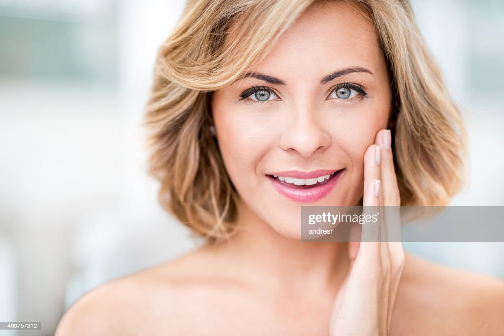 Porträt einer Frau Schönheit : Stock-Foto