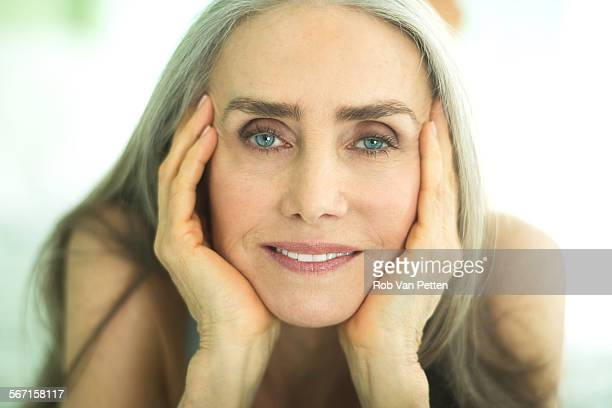 Beauty Portrait of Mature Woman
