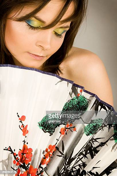 beauty portrait of woman - graphixel stock pictures, royalty-free photos & images