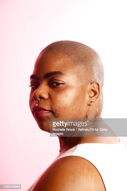 Beauty Portrait of Young Confident Woman