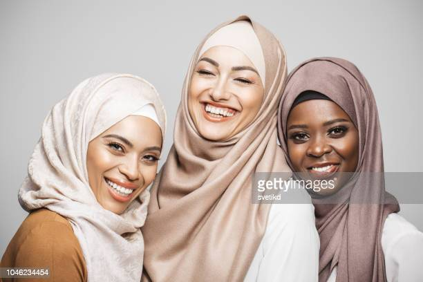 beauty portrait - islam stock pictures, royalty-free photos & images