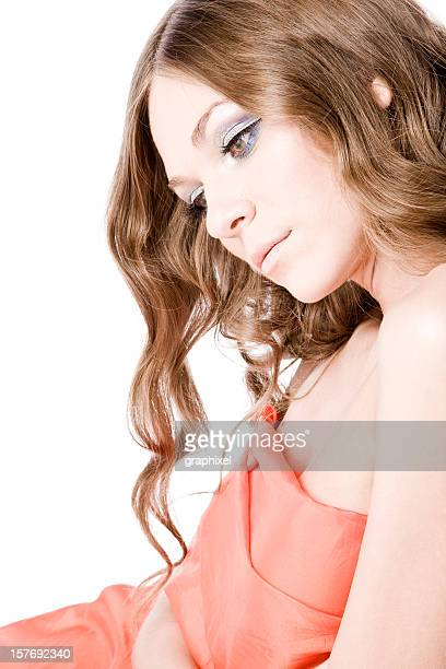 beauty portrait - graphixel stock pictures, royalty-free photos & images