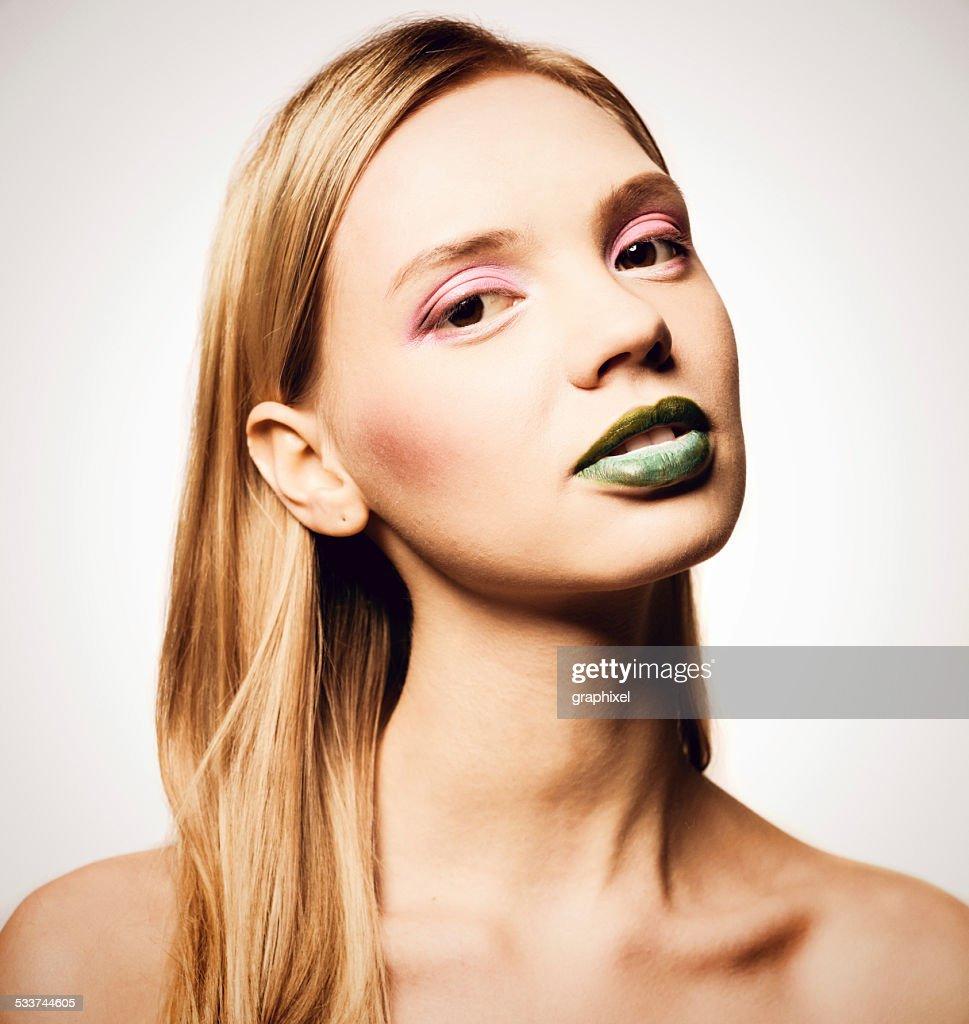Ritratto di bellezza : Foto stock