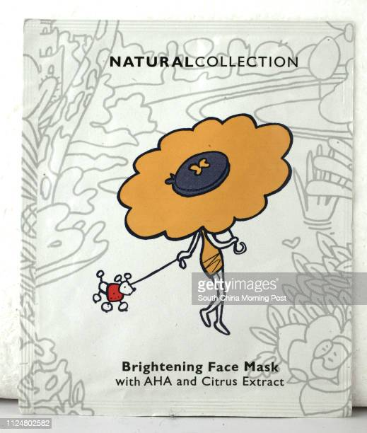 Beauty product Natural Collection's brightening face mask 08 March 2004
