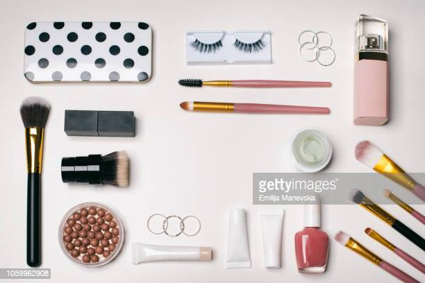 Beauty Products Knolling