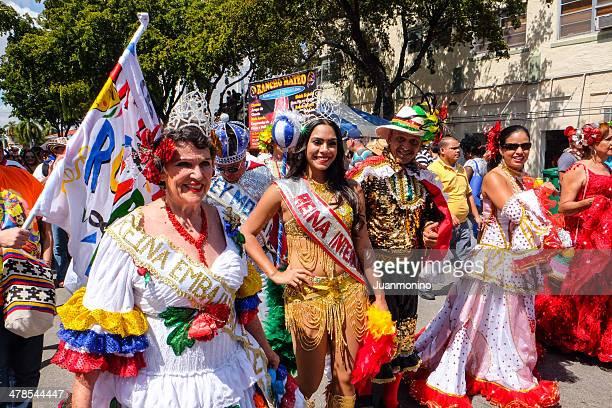Beauty Queens at Calle Ocho Festival