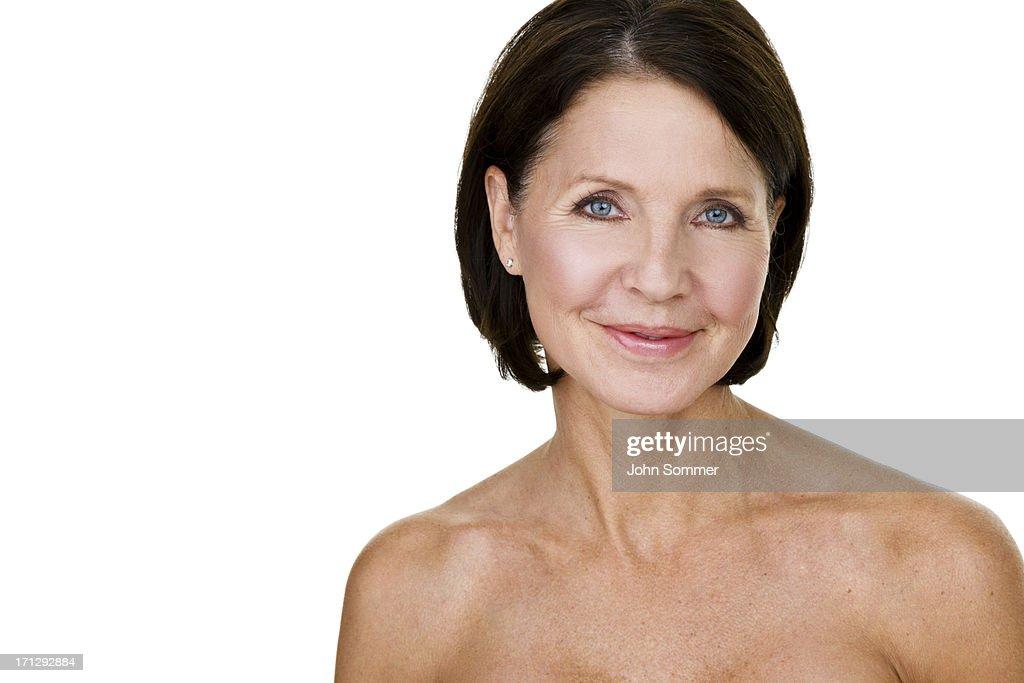 Beauty shop of a mature woman : Stock Photo