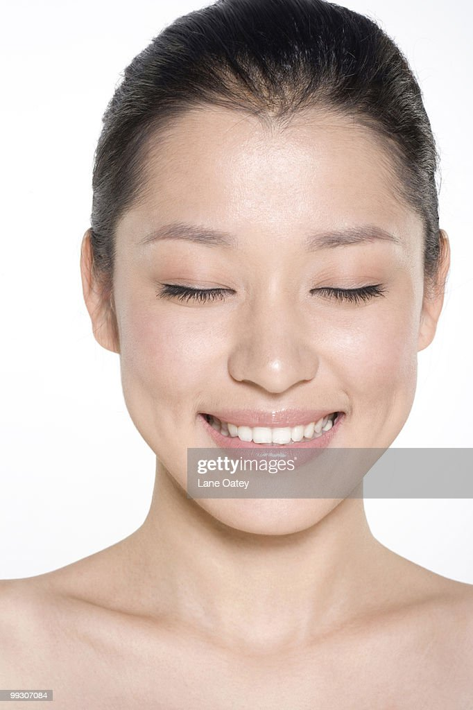 Beauty shot of a young woman : Stock Photo