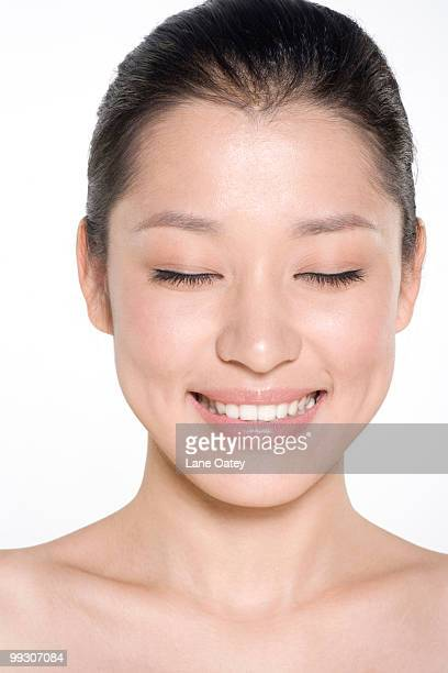 Beauty shot of a young woman