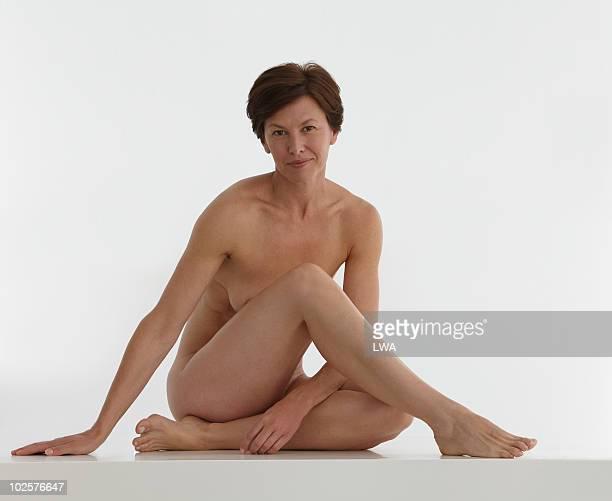 Beauty Shot Of Naked, Mature Woman