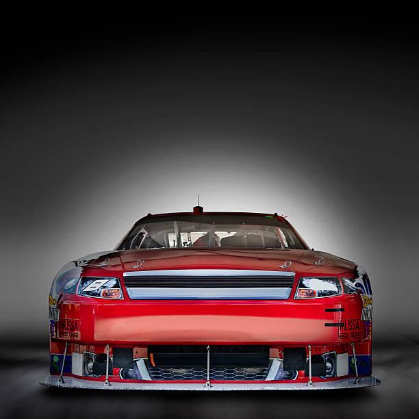 Beauty shot of Race Car
