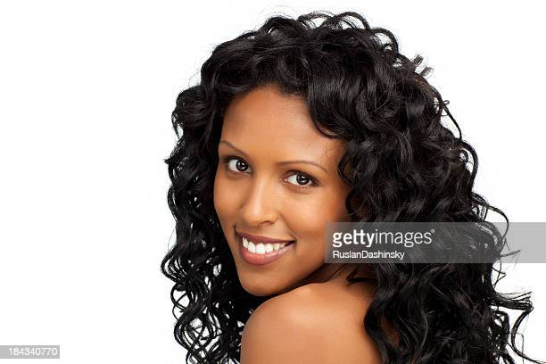 Ethiopian Hair Style Ethiopian Hairstyle Stock Photos And Pictures  Getty Images