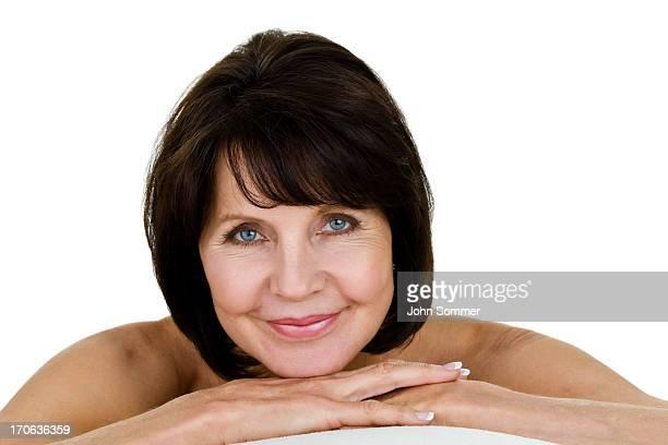 Donne mature nude foto e immagini stock getty images - Ragazze nude in bagno ...