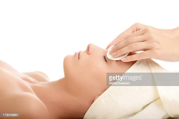 beauty treatment - beauty care occupation stock photos and pictures