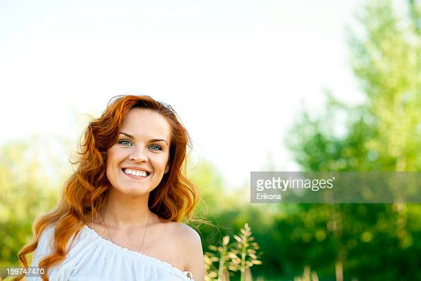 Beauty woman in nature