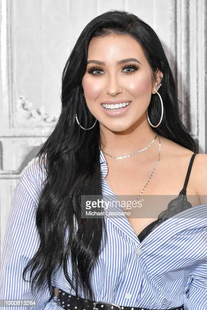 Beauty YouTuber Jaclyn Hill visits Build to discuss the Morphe X Jaclyn Hill Palette at Build Studio on July 17 2018 in New York City