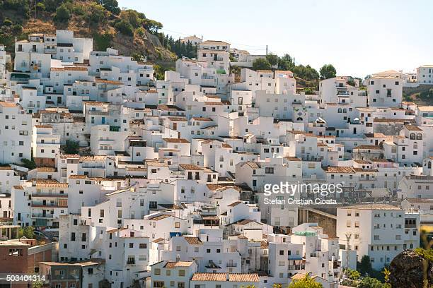 beautyful casares - andalucia stock pictures, royalty-free photos & images