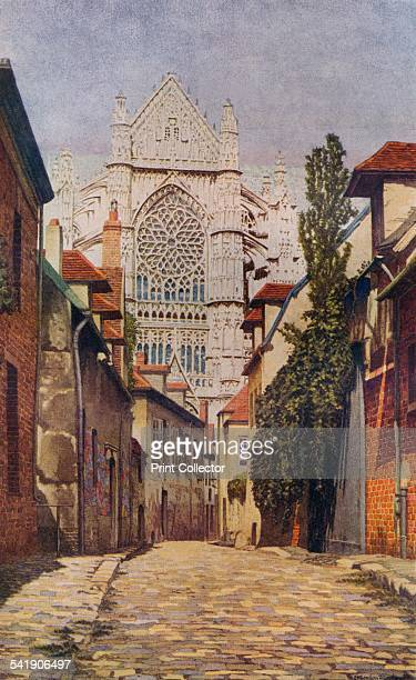 'Beauvais Cathedral' c20th century From The Studio Volume 106 [The Offices of the Studio London 1933]Artist Herbert Gordon Warlow