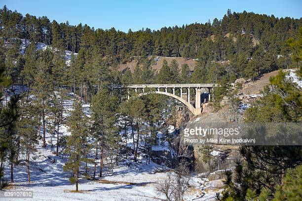 beaver creek bridge - black hills stock pictures, royalty-free photos & images