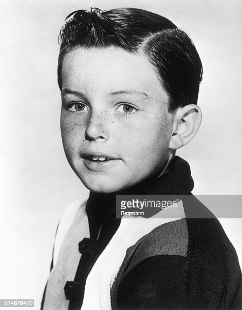 """Filed 1961: Jerry Mathers stars as the """"Beaver"""" on ABC-TV's amusing situation comedy """"Leave It To Beaver"""" seen every saturday, 8:30-9 P.M. EDT."""