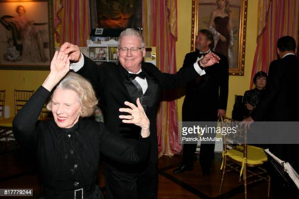 Bebe Adler and John Haley attend Portrait artist ZITA DAVISSON's Great Gatsby Party A Roaring 20's Evening at Private Residence on October 20 2010 in...