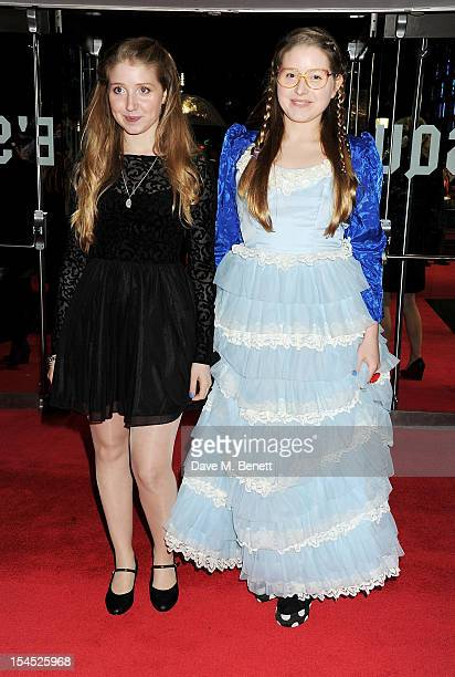Bebe and Jessie Cave attends the Gala Premiere of 'Great Expectations' which closes the 56th BFI London Film Festival at Odeon Leicester Square on...